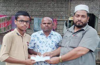 রংপুরের মেধাবী ছাত্র মেহেদী'র শিক্ষা খরচের দায়িত্ব নিলো আলো ফাউন্ডেশন