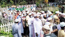 গাইবান্ধার আলহাজ্ব মোজ্জাম্মেল হকের দাফন: বিভিন্ন মহলে গভীর শোক